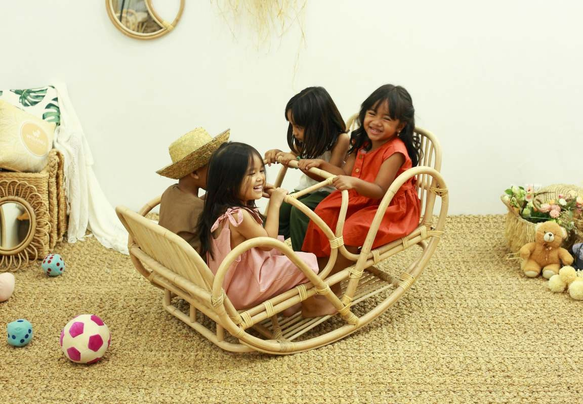 Rattan Toys for children - popular handmade toys