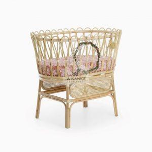 Chiko Rattan Baby Bassinet