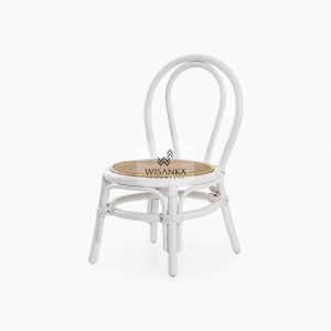 Kala Kids Rattan Chair White