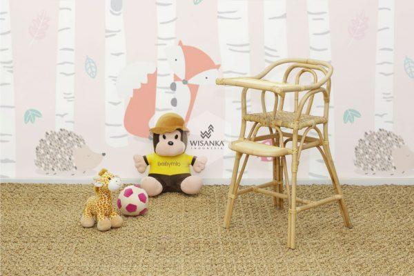 Ying Rattan baby High Chair