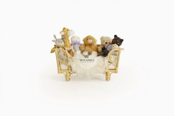 Bonie Rattan Doll Bed 2