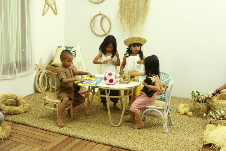 Bes Selling Rattan Kids Furniture