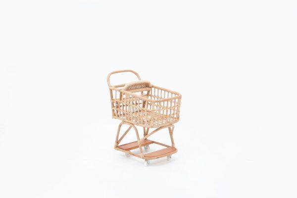 Vanessa Rattan Kid's Shopping Cart