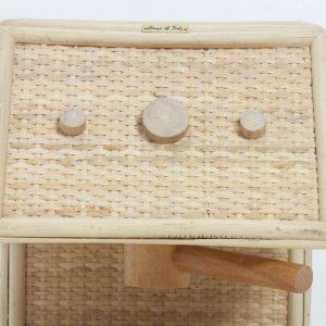 Rattan Coffee Maker Toy