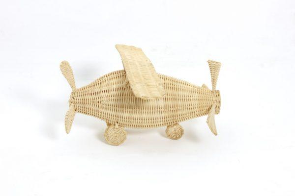 Rattan Aeroplan Toys Figur