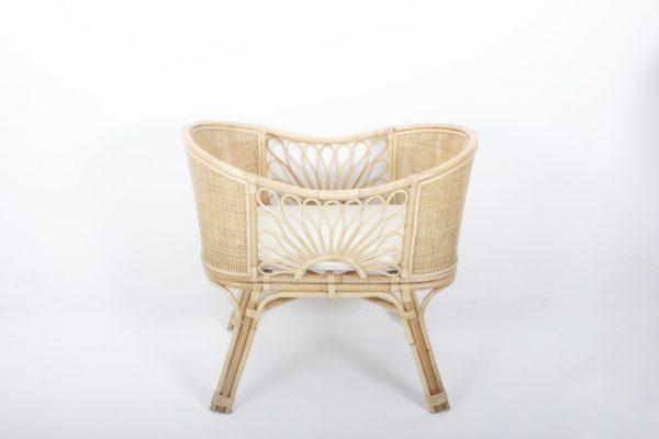 Sorea Rattan Baby Crib